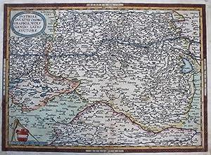 Austriae Ducatus Chorographia, Wolfgango Lazio Avctore.: ORTELIUS, Abraham