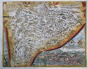 Salisburgensis iurisdictionis, locorumq. vicinorum vera descriptio auctore Marco Secznagel ...