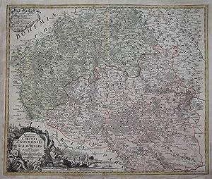 Marchionatus Moraviae Circuli Znoymensis Et Iglaviensis Quos Mandato Caesareo accurate emensus hac ...