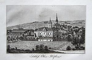 Schloss Ober-Höflein.: SCHWEICKHARDT von SICKINGEN
