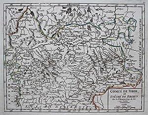 Comté de Tirol et de Eveché de Brixen.: ROBERT de VAUGONDY