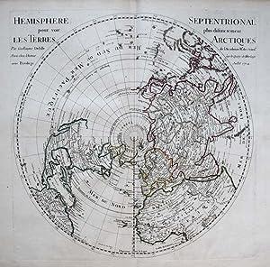 Hémisphère septentrional pour voir plus distinctement les terres arctiques.: de ...