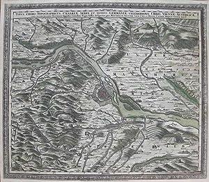 Typus Choro-Topographicus Caesareae Sedis Et Totius Germaniae Celeberrimae Urbis Viennae Austriacae...