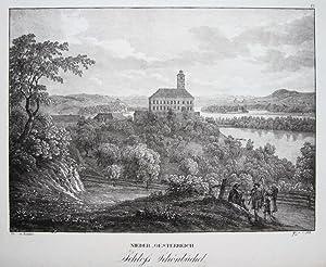 Nieder_Oesterreich Schloss Schönbüchel [Schönbühel].: KUNIKE, A. und J. ALT