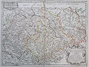 Haute Saxe ou Estats du Duc, et Eslectorale de Saxe,&c. ou sont les Duche de Saxe, Marquisat de...