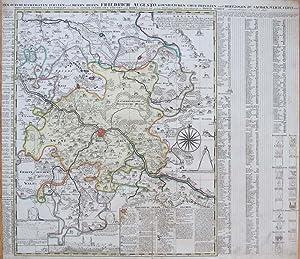 Acurrate Geographische Delineation der Dioeces und des Ammtes Dresden mit allen ihren und denen ...