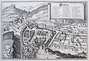 Veldkirch [Feldkirch].: MERIAN, M.