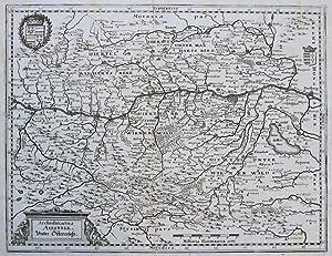 Archiducatus Austriae. Unter Österreich.: MERIAN, M.