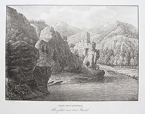Ober Oesterreich. Ausfahrt aus dem Strudel.: ALT, J. und A. KUNIKE