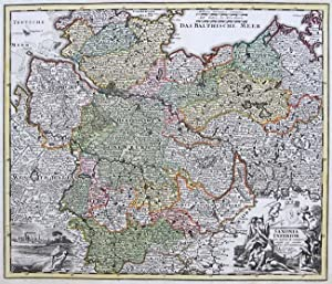 Saxonia Inferior cum infertis & contiguis extant qq. Cursus publici permutationes accurante.: ...