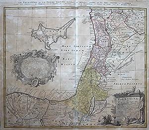 Palaestina seu Terra olim Sancta, tum duodecim tribubus distributa, tum a Davide et Salomone usque ...