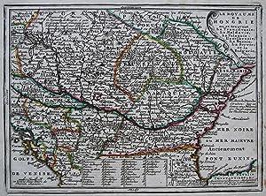 Le Royaume de Hongrie ou se trouvent La Transilvanie, La Moldavie, La Valaquie, L'esclavonie, ...