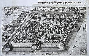 Die haubt Statt Clagenfurt [Klagenfurt].: VALVASOR, J.W.