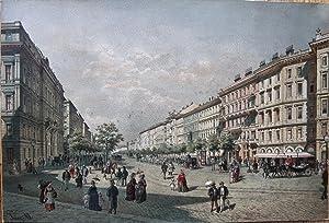 Wien im Weltausstellungsjahre 1873. Der Kärntnerring.: ALT, Franz