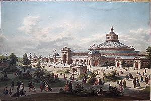 Wien im Weltausstellungsjahre 1873. Weltausstellungs-Palast.: ALT, Franz oder Rudolf