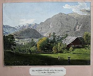 Das Schmolnauer Haus bei Ischl in Ober-Oesterreich.: ALT, Jakob