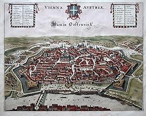 Vienna Avstriae. Wien in Oostenreyk.: JANSSONIUS, J.