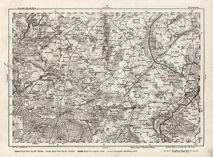 "Litho.- Karte, n. Handtke, ""Angermünde"".: ANGERMÜNDE - TEMPLIN:"