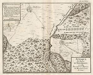 Attaque des Lignes d'Ettlingen en 1734 .: ETTLINGEN: SCHLACHT 1734: