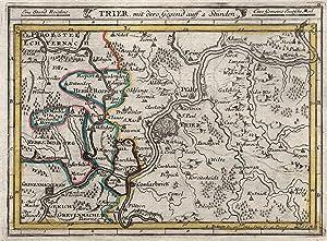 Trier Karte Umgebung.Kupferstich Karte V Und B Gab Bodenehr