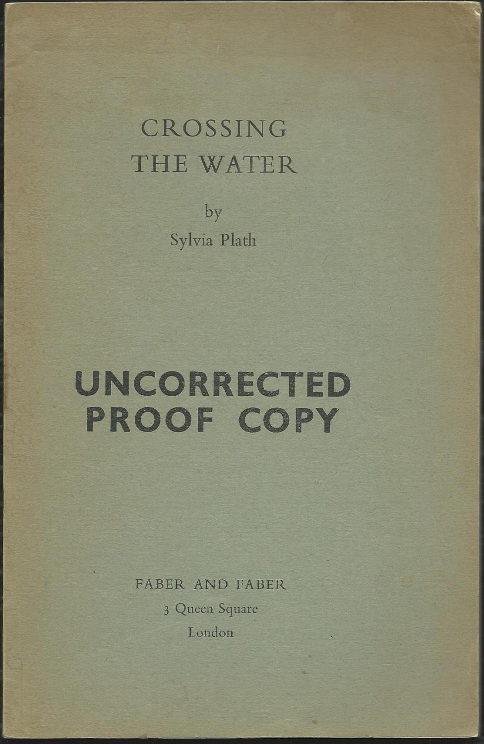 Crossing the Water (UCP)