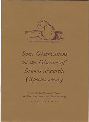 Some Observations on the Diseases of Brunus Edwardii (Species nova)
