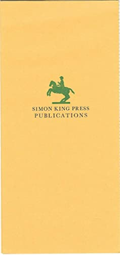 Simon King Press Publications