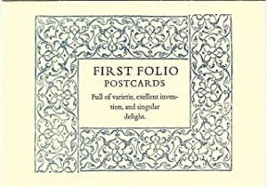First Folio Postcards (Sample Only)