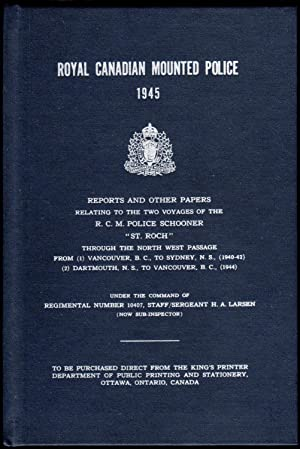 Royal Canadian Mounted Police - 1945: Reports: Larsen, H. A.