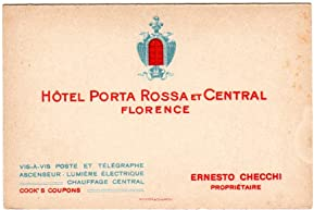 Hotel Porta Rossa et Central Florence