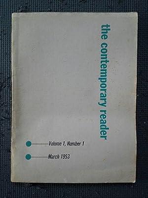 The Contemporary Reader, Volume 1, Nos. 1-4