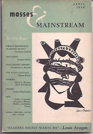 Masses & Mainstream, Vol. 1, Number 2,: Sillen, Samuel, ed.