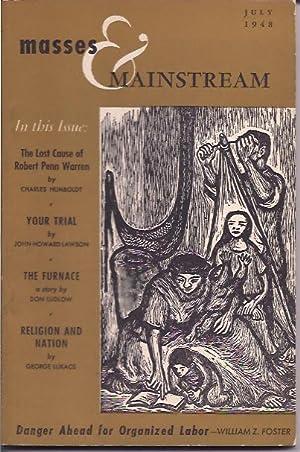 Masses & Mainstream, Vol. 1, Number 5,: Sillen, Samuel, ed.