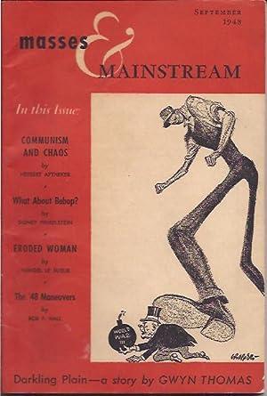 Masses & Mainstream, Vol. 1, Number 7,: Sillen, Samuel, ed.