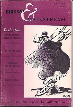 Masses & Mainstream, Vol. 3, Number 1,: Sillen, Samuel, ed.