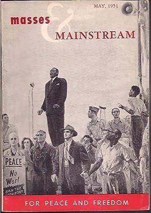 Masses & Mainstream, Vol. 4, Number 5,: Sillen, Samuel, ed.