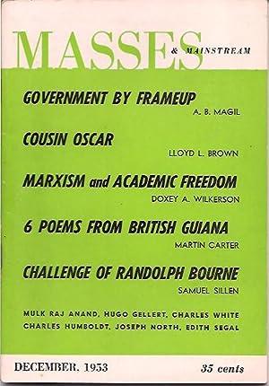 Masses & Mainstream, Vol. 6, Number 12, December 1953: Sillen, Samuel, ed.