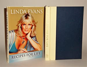 Recipes for Life: My Memories signed copy: Evans, Linda