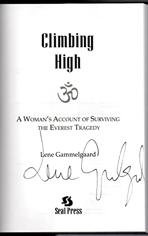 Climbing High signed copy: Gammelgaard, Lene