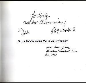 Blue Moon Over Thurman Street signed copy: Le Guin, Ursula