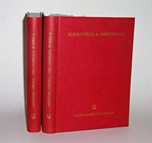 Abraham Cowley: The Complete Works in Verse: Grosart, Alexander B.