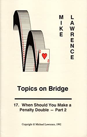 Topics on Bridge 15 booklets: Lawrence, Mike