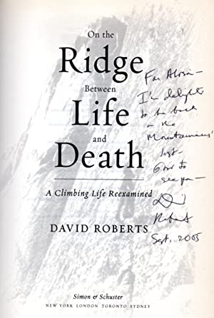 On the Ridge Between Life and Death: Roberts, David