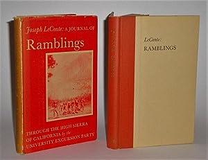 A Journal of Ramblings Through the High Sierras of California: LeConte, Joseph