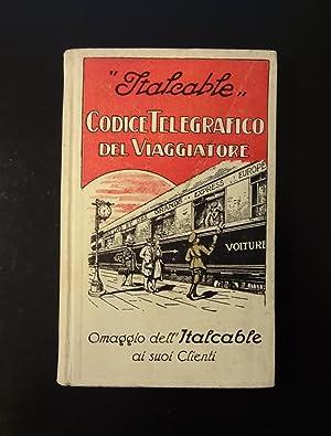 ITALCABLE - Codice Telegrafico Del Viaggiatore, Omaggio