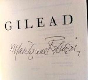 GILEAD (SIGNED): ROBINSON, MARILYNNE