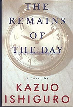THE REMAINS OF THE DAY (SIGNED): ISHIGURO, KAZUO