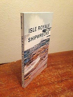 Isle Royale Shipwrecks.: Stonehouse, Frederick.