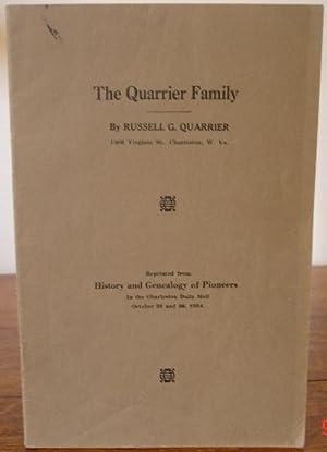 The Quarrier Family: Quarrier, Russell G.
