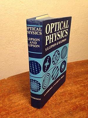 Optical Physics.: Lipson, S. G.